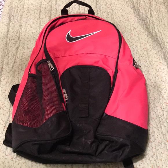 023c4934021 Nike Bags   Pink Bookbag   Poshmark